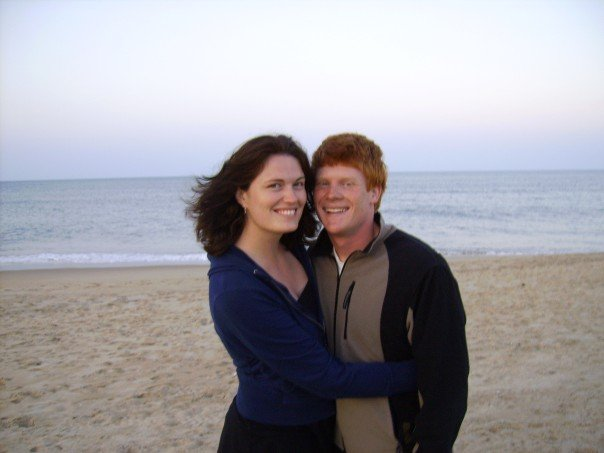 Us in the Outer Banks of NC in 2006!!!