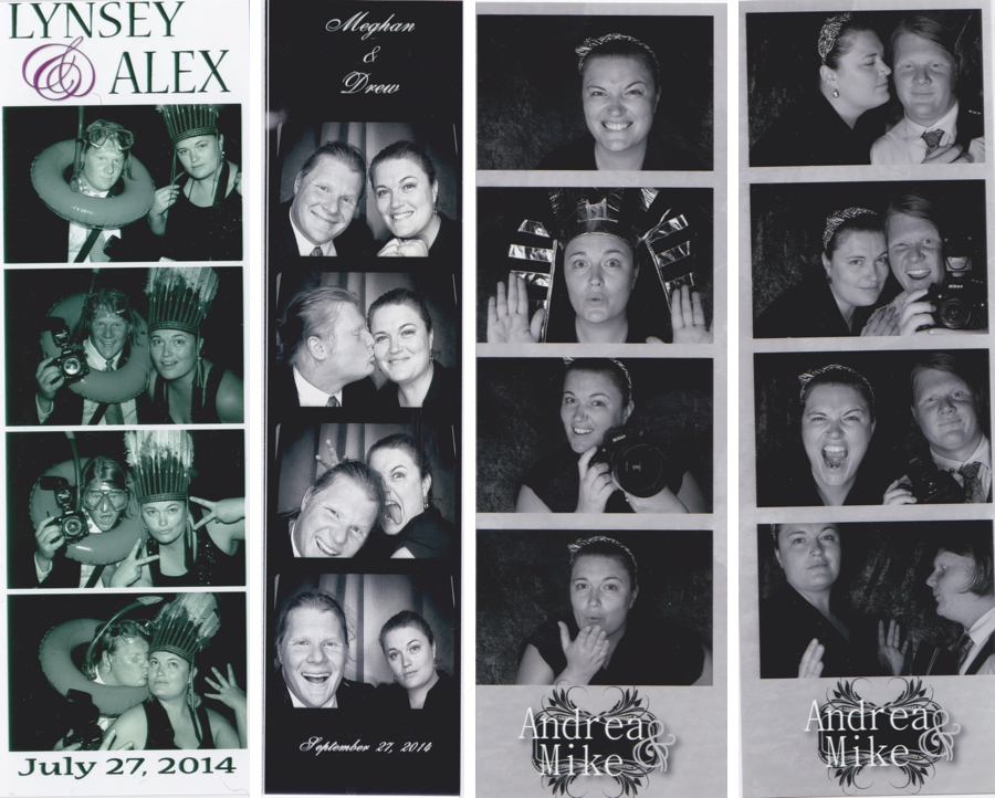 lynseyand alex photobooth