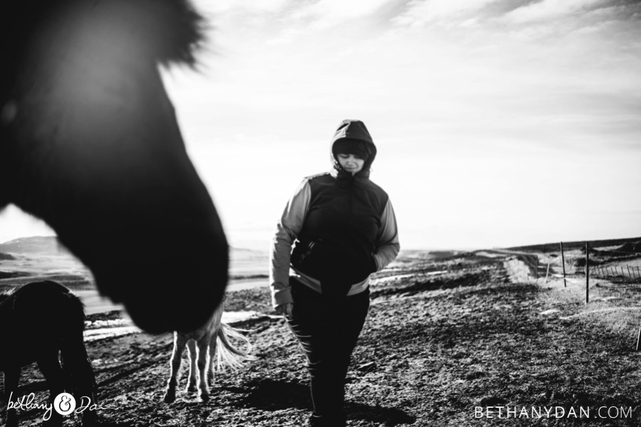 Bethany and a Horse