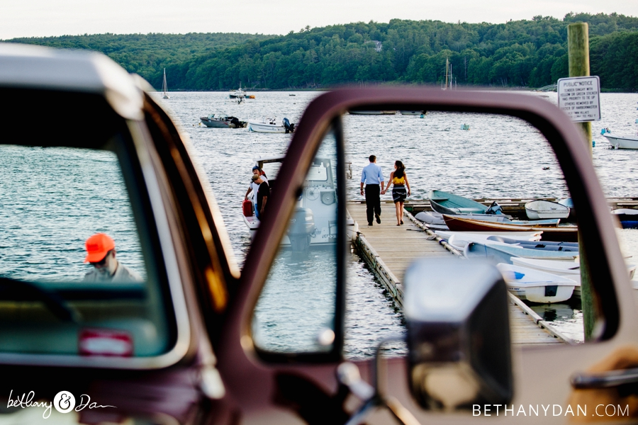 Damraiscotta Maine Engagement Session