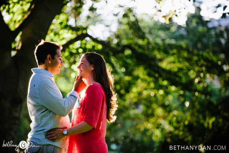 Boston MA Engagement Session