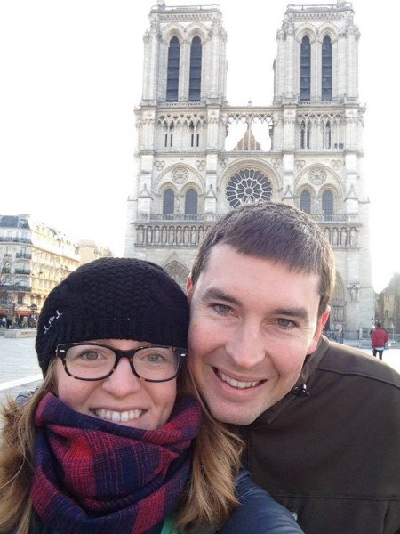 Hanah & Colin in Paris