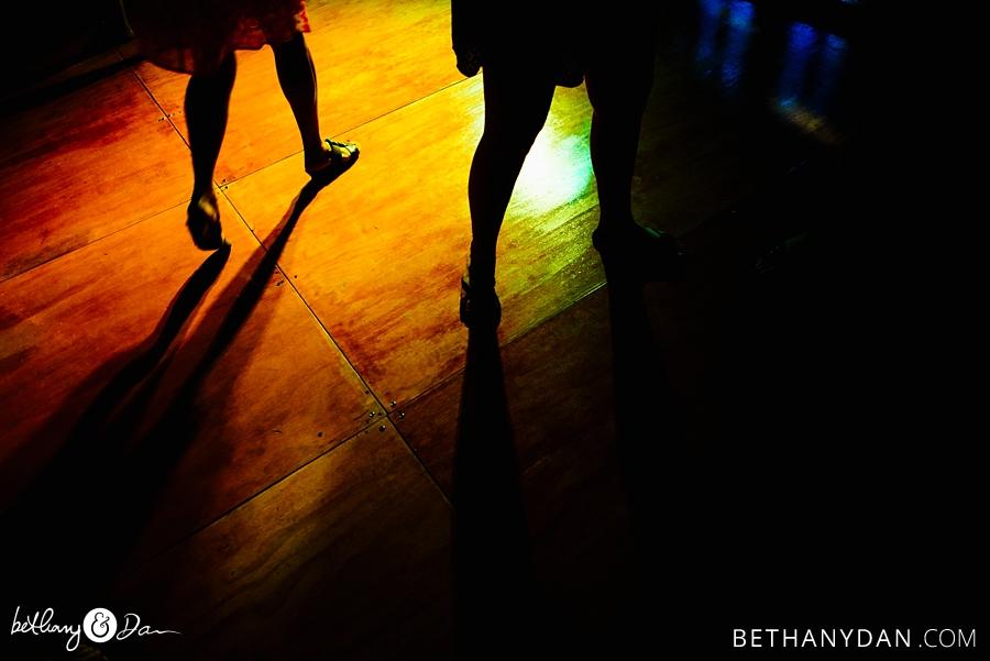 Just feet on the dancefloor