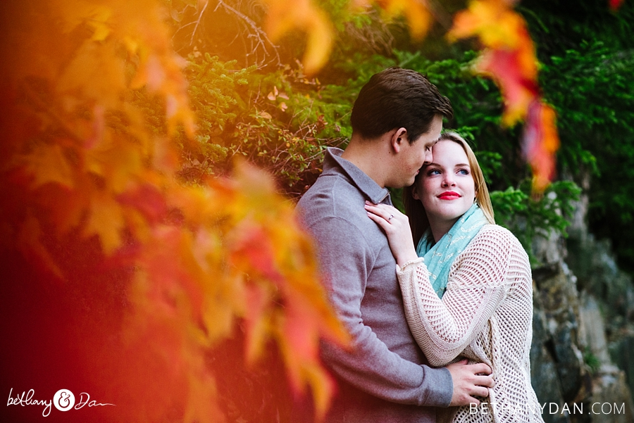 Bar Harbor Acadia Engagement Session