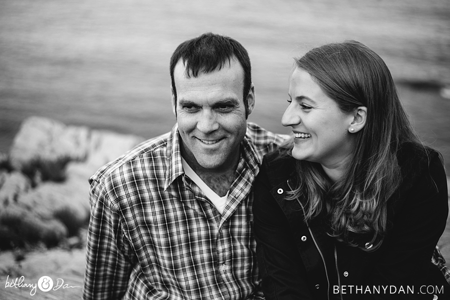 Diamond Island Portland Maine Engagement Session