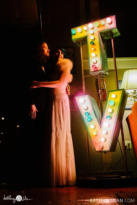 Georgetown Seattle Funky Loft Wedding
