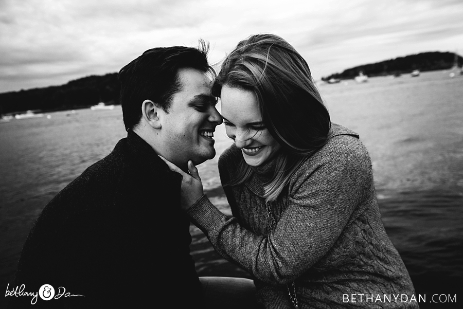 Bar Harbor Engagement Session