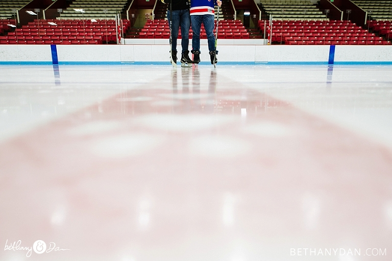 Ice Skating Boston Engagement