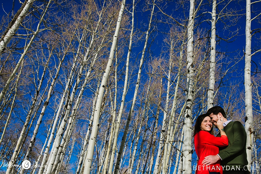 Steamboat Springs Colorado Winter Engagement Session