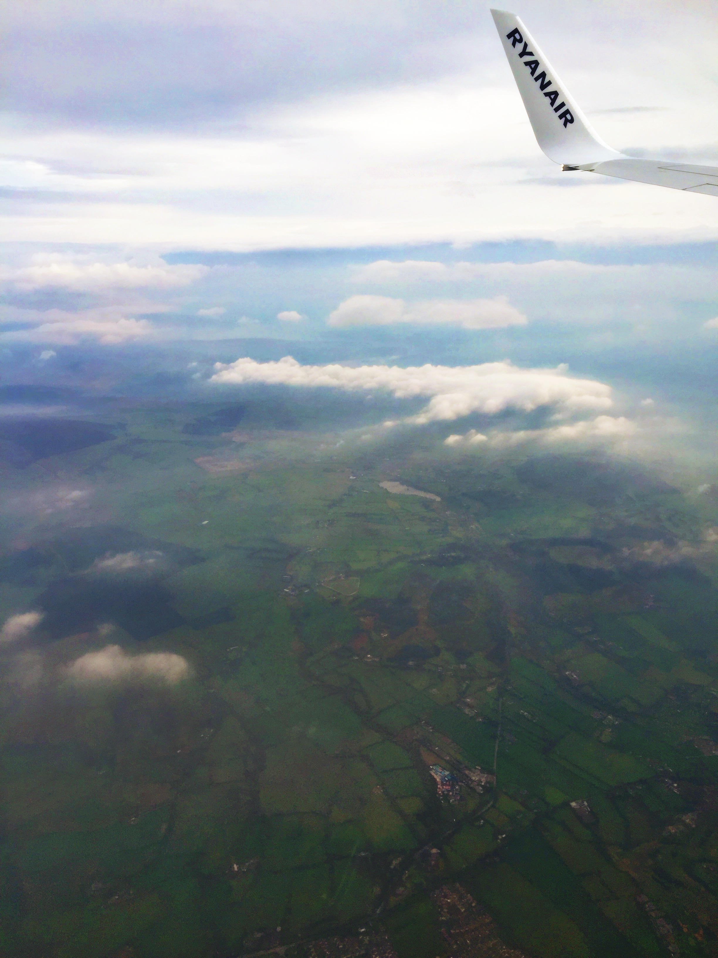 flight to ireland