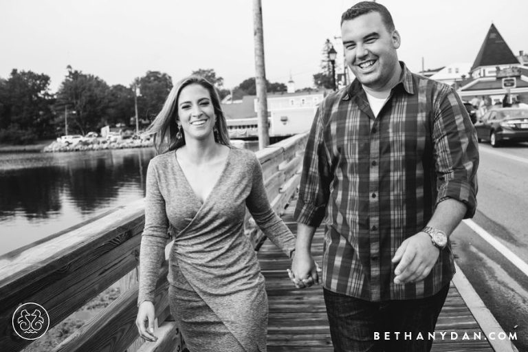 Kennebunkport Maine Engagement Session 0002