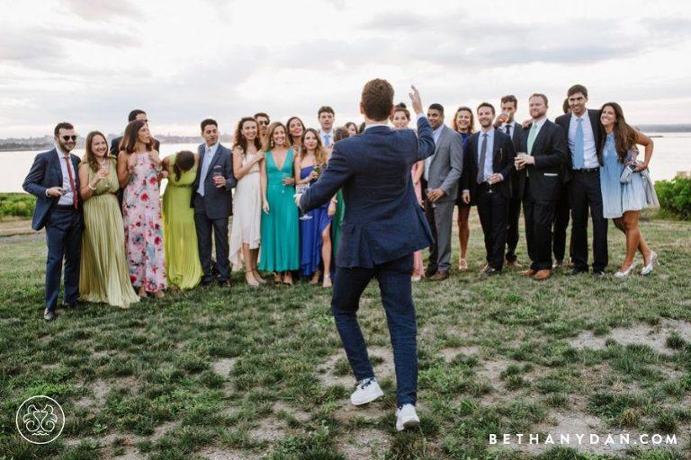 House Island Maine Destination Wedding