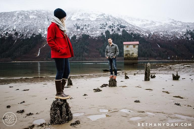 Juneau Alaska Engagement Session