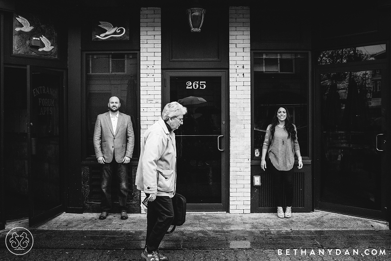 Providence Rhode Island Engagement Session