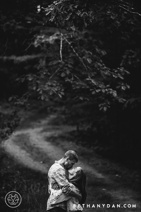 Pemaquid Maine Engagement Session