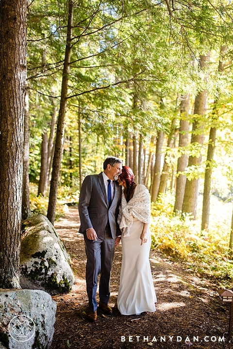 Migis Lodge Maine Wedding