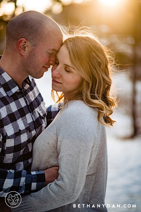 Two Lights State Park Engagement Session