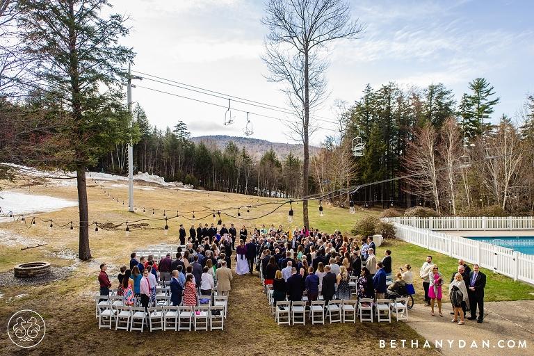 Sunday River Maine Wedding