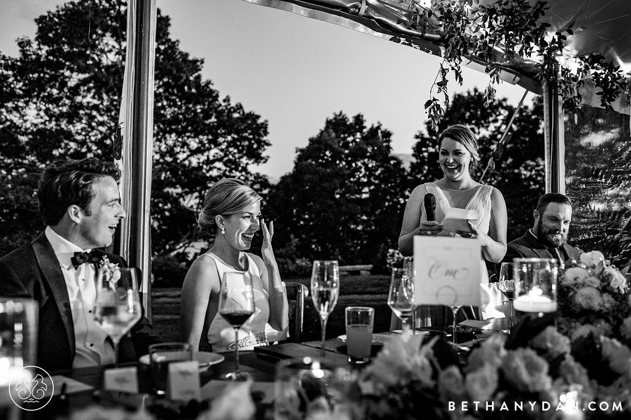French's Point Maine Wedding